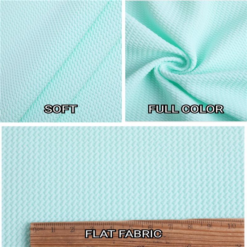 Bubble Twill Jacquard Knitting Women Pajamas Cloth Fabrics001