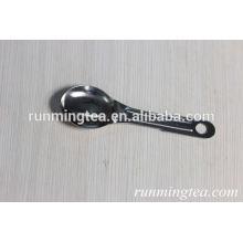 Выгравированные серебряные ложки кофе и чайные инструменты