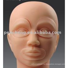 Mannequin Head mit Einlagen für Permanent Make-up Maschine