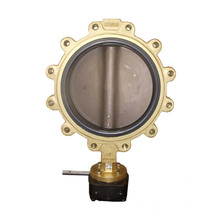 High Quality Monel Lug Type Butterfly Valve