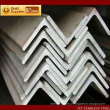 Ângulo de aço inoxidável escovado AISI 409 de alta qualidade