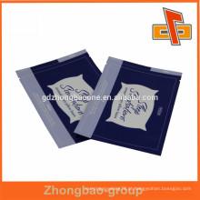 De alta qualidade e boa aparência de folha de alumínio máscara facial fornecedores saco China
