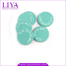Beauty free sample makeup products logo printing nbr latex makeup sponge