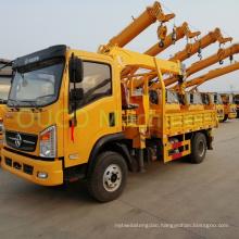 Stiff Telescopic Boom Lorry Mounted Crane for Cargo