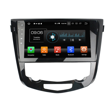 Qashqai AT 2013-2016 için Android 8.0 araba elektroniği ile DSP Parrot Bluetooth