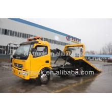 Dongfeng 4ton camiónes de remolque usados a la venta, 4x2 Camión de remolque Camión de remolque One Tow Two