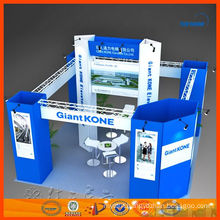 20' x 20' four sides open Shanghai booth exhibition stand supplier