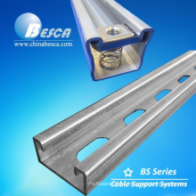 Cooper B Line Factory in China Unistrut Standard Steel Strut Channel