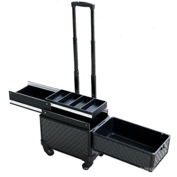 Cosmetic Makeup Case with Trolley