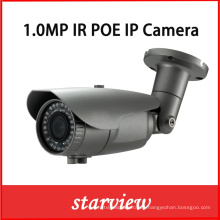 1.0MP IR impermeable Bullet CCTV de seguridad de la red de la cámara IP