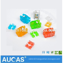 Aucas Brand Network Cable RJ45 Ethernet Wall Jack Cat5e UTP Keystone Jack