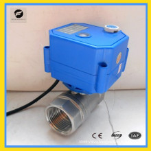 CWX-25s electric ball valve with actuator for hvac water equipment
