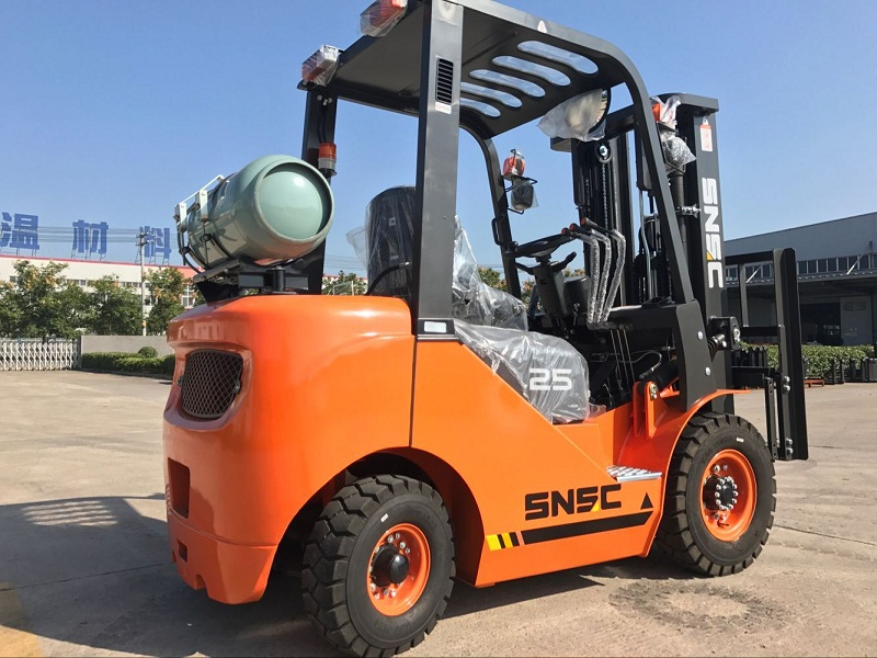 2.5 ton lpg gas forklift to Mexico from sheri (3)