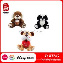 Animal de peluche juguetes de peluche suave juguetes de peluche para niños