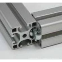 Profilé en aluminium d'extrusion d'aluminium OEM pour mur rideau