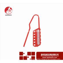 Wenzhou BAODSAFE Flexible Lockout Hasp BDS-K8643 Red Color