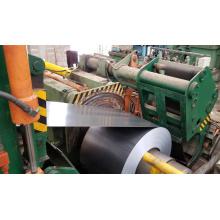 Ligne de recul de coupe de bord de bobine d'acier
