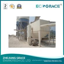 Collecteur de poussière de Baghouse pour la collection de poussière dans le filtre à poussière d'usine de ciment