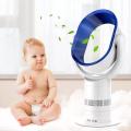 Mini ventilateur de piédestal led de 10 pouces sans lames avec commande à distance