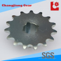 Industrial Transmission Standard Lager Zink Kettenrad mit quadratischem Loch