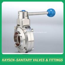 Гигиенические дроссельные клапаны со сварным концом 3A / SMS / ISO / DS