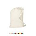 Factory Supply Heavy Duty Large Canvas Cotton foldable bathroom Drawstring wash Laundry Bag In Bulk