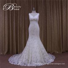 Vstidos De Novia Sexy Pleat Factory Direct Wedding Dress