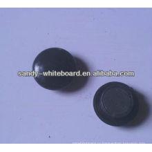Пластиковая магнитная кнопка, магнит с пластиковым покрытием, круглая магнитная кнопка, аксессуары для доски, 20 мм XD-PJ201-3