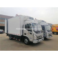 Diesel Frozen Meat Delivery Refrigerated Truck