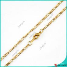 Collier de chaîne en or à la mode pour le locketing flottant (FN16040838)