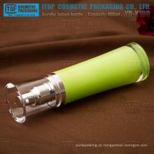 YB-X100 100 ml loção/spray pump alto luxo material acrílico transparente 100 ml frasco plástico