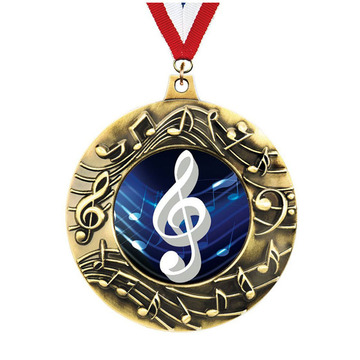 Crown's Exclusive Bronze Majestic Music Medals