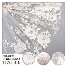 Venda quente barato tecido de malha poli para decoração de casamento