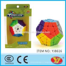 2016 новый пункт YJ YongJun Yuhu Megaminx Magic Puzzle куб образовательные игрушки английский Упаковка для продвижения