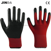Нитриловые покрытые защитные перчатки с защитой от зебры (U204)