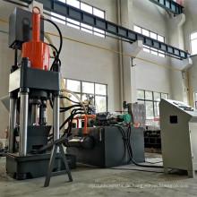 Brikettpresse für Schrott und Metallspäne mit hoher Kapazität