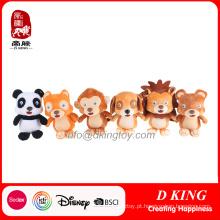 Design personalizado Soft Plush Animal Stuffed Toy Atacado
