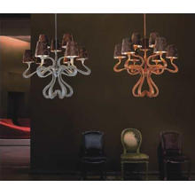 Country Style Copper Fabric Hotel Pendant Lamp (MD7018-6+3)