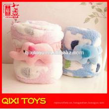 alibaba china proveedor 100% poliéster barato tela súper suave para la manta del bebé