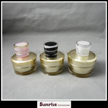 Pot de 50g cône forme acrylique crème 5g 15g 30g