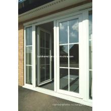 Гарантия лучшей цены Двойные стеклянные алюминиевые двери