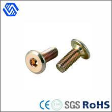 Kohlenstoffstahl Innensechskant Farbe verzinkt Rundkopf Standardgröße Schnellverschluss Schraube