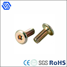 Carbon Steel Hex Socket Color Zinc Plated Round Head Standard Size Quick Release Bolt
