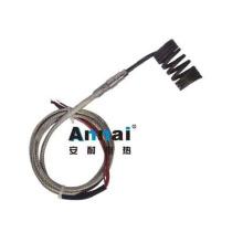 Elemento calefactor de resorte personalizado con termopar tipo K