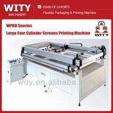 Tamanho grande quatro cilindro tipo tela impressora