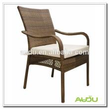 Audu Tejiendo muebles de exterior del hotel sillas de jardín de rotén pro