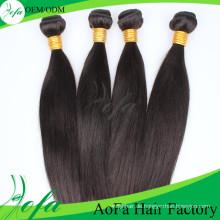 2016 heiße Verkäufe Inder 100% Unverarbeitete Reine Haar Remy Menschenhaarverlängerung