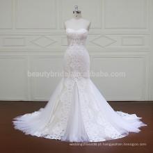 XF16006 peixe cortou imagens de vestido hochzeitskleid vestidos de casamento na África do Sul