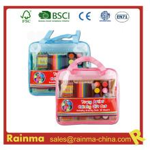 Набор школьных принадлежностей в сумке из ПВХ