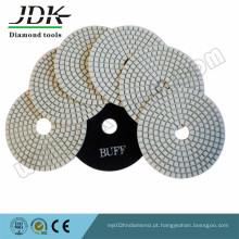 Almofadas de polimento de diamante seco de 4 polegadas para granito e mármore